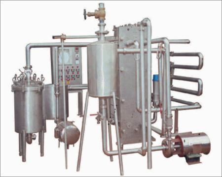 Milk Cream Pasteuriser