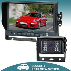 7 Inch TFT LCD Color Car Reversing Monitor with Digital Screen-MO127D