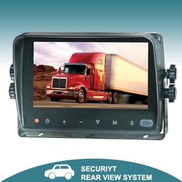 7 Inch TFT LCD Color Digital Car Monitor with Touch Button System-MO121D