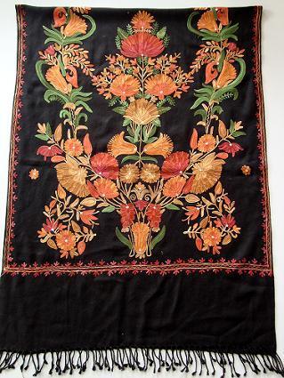Kashmiri Embroidery Shawls