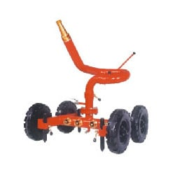 Trolley Mounted Water Monitor With Jet Nozzle