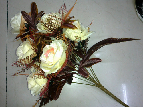 12h Brown Rose Bunch Plant
