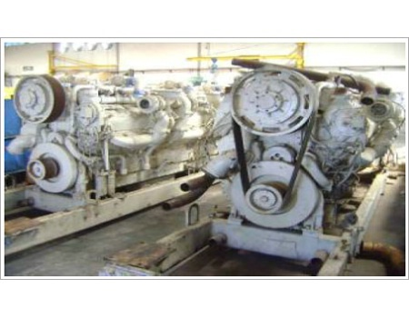 Diesel Engines (DETROIT 20V-149TI- Electronics)