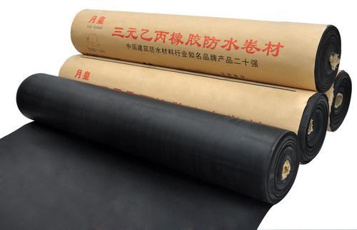 KRI Waterproofing EPDM Membrane for Industrial and