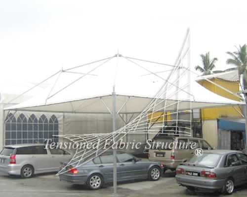 4 Cone Gazebo Tent