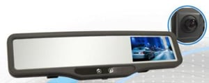 Wide Angle Rear View Mirror With Digital Video Recorder For Vehicle