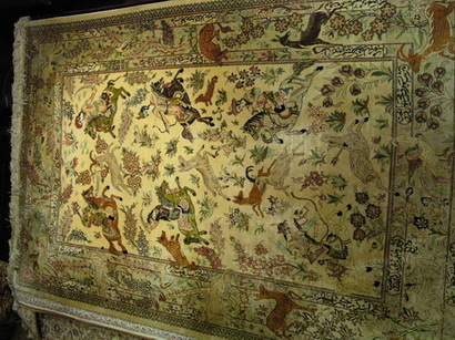 Persian Qom Silk Carpets