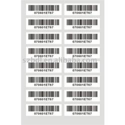 Industrial Barcode Stickers
