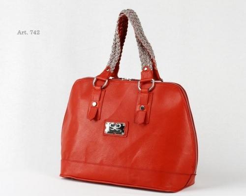 Nappa Leather Medium Handbag