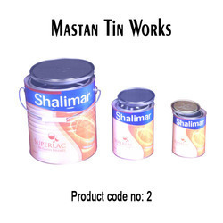 Round Double Tight Tin Containers in  Kurla (E)