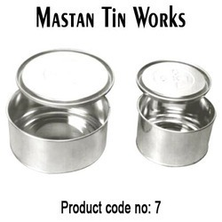 Round Open Mouth Tin Containers in  Kurla (E)