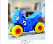 Pull N Scoot Speedy
