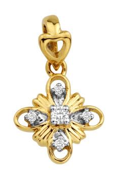 Diamond Pendants (0.06 Ct Real Diamonds)