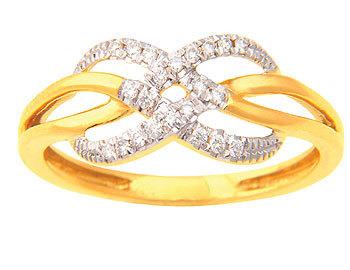 Ladies Diamond Ring (0.20 Ct Real Diamonds)