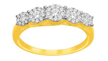 Ladies Diamond Rings (0.50Ct Real Diamonds)
