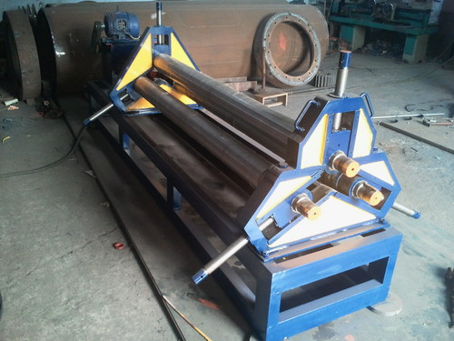 Plate Roll Banding Machine