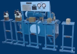 Hydraulic Power Pack And Valve Stands