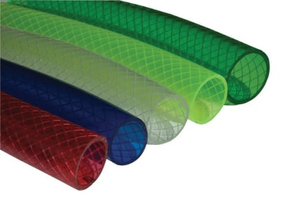 Braided And Colored Garden Hoses