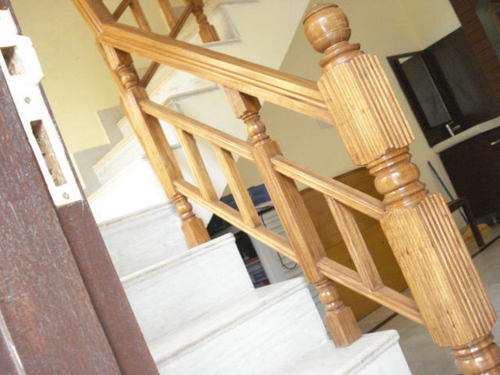 Imported Teak Wooden Stair Railings At Best Price In