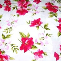 Poly Voile Cotton Fabric