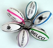 Rugby Ball Key-rings