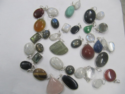 Single Stone Pendants