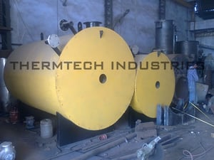 Advanced Gas Fired Horizontal Thermic Fluid Heater