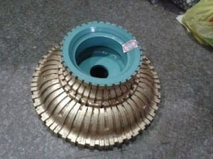 Sinter Or Electroplated Profile Wheel