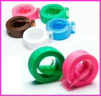 Fashionable Silicone Golf Belt