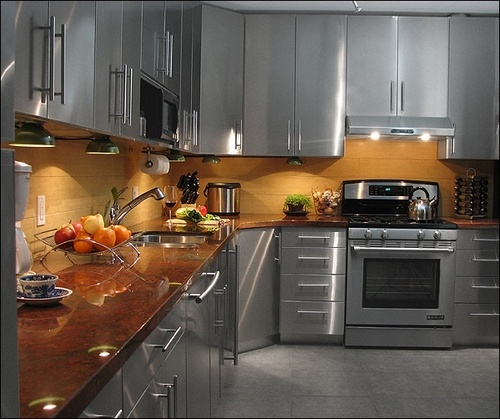 Modular Kitchen Solutions: Stainless Steel Modular Kitchen Solutions In Bengaluru