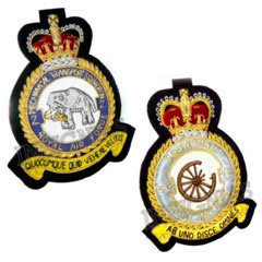 Air Force Squadron Badges