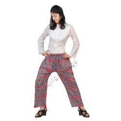 Hand Block Print Straight Pants