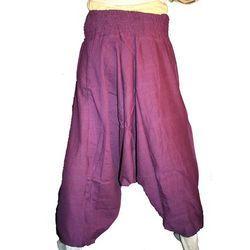 Plain Cotton Alibaba Trousers