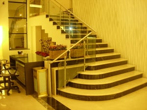 Finely Finished Steel Railing