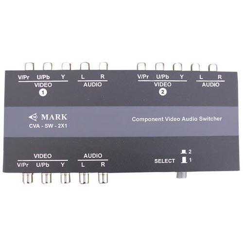 Video - Audio Stereo Passive Switcher