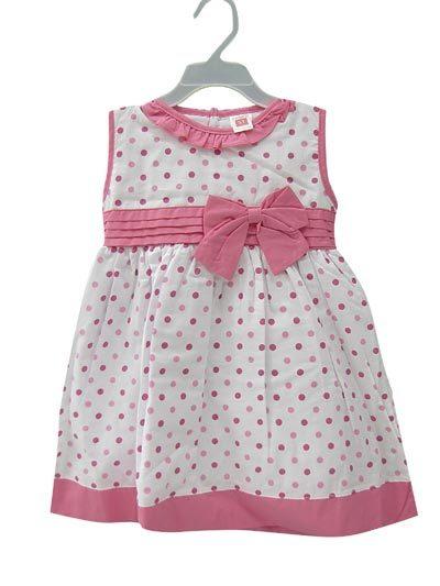 Pink Dots Baby Dress