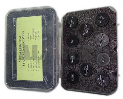 Metallurgical Microstructure Specimen Set