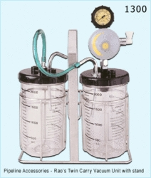 Twin Carry Vacuum Unit With Stand
