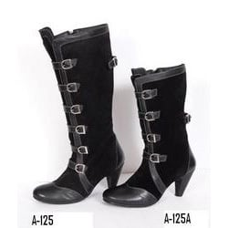 Multi Laced Ladies Leather Boot