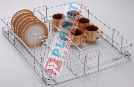 Stainless Steel Cup Saucer Basket