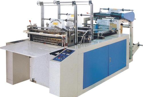 Plastic T Shirt Carry Bags Making Machine In Zhejiang