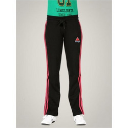 Women Stripe Black Track Pant
