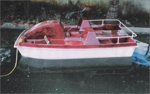 Four Seater Plain Pedal Boat