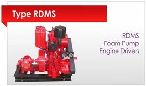 Foam Pump Engine Driven
