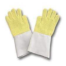 Kevlar Palm Leather Gloves