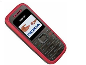 Mobile Phone (Nokia 1208)