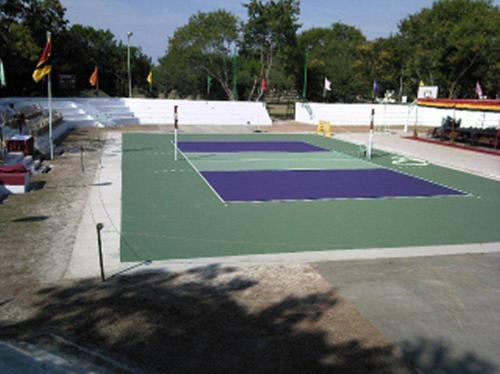 Synthetic Volleyball Court