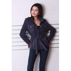2ec736c55d7 Ladies Leather Long Coat - FASHION FACTORY INTERNATIONAL , No. C-68 ...