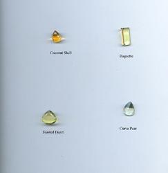 Coconut Shell Gemstone Beads
