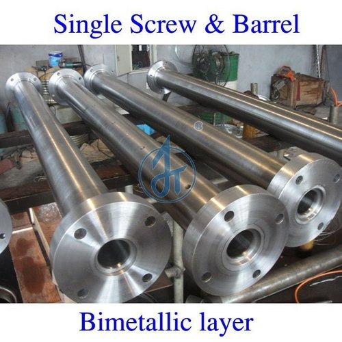 Bimetallic Layer Extruder Barrels